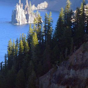 Ghost Ship at Crater Lake, Oregon