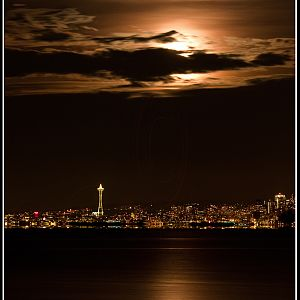 Moon over the Needle