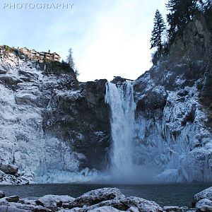 Snoqualmie Falls and Lodge