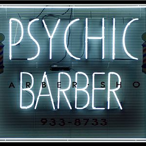 West Seattle Neon-the Psychic Barber