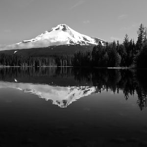 Mt. Hood, Trillium Lake, Oregon