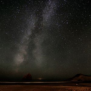 Stars Over Cape Kiwanda