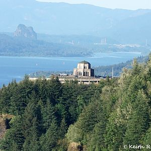 Vista House and Beacon Rock